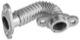 Exhaust pipe EGR 31338533 (1037002) - Volvo C30, C70 (2006-), S40 V50 (2004-), S60, V60, S60XC, V60XC (2011-2018), S80 (2007-), V40 (2013-), V40 XC, V70 XC70 (2008-), XC60 (-2017)