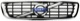 Kühlergitter mit Strebe mit Emblem 31290532 (1037708) - Volvo S40 V50 (2004-)