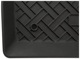 Floor accessory mat, single front right