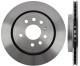 Brake disc Rear axle vented 12762291 (1038339) - Saab 9-3 (2003-)