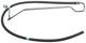Hydraulic hose, Steering system 9169583 (1038364) - Volvo 900, S90 V90 (-1998)