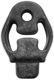 Rubber mount, Silencer 30647635 (1038544) - Volvo C30, C70 (2006-), S40 V50 (2004-), V40 (2013-), V40 XC