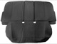 Accessory Seat Guard Rear seat Vinyl black 31263120 (1038629) - Volvo S60 (2011-2018), S60 XC (-2018), V60 (2011-2018), V60 XC (-18)