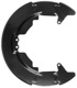 Splash panel, Brake disc Front axle fits left and right 30778890 (1038647) - Volvo C30, C70 (2006-), S40 V50 (2004-)