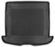 Trunk mat Synthetic material Rubber black  (1040063) - Volvo V50