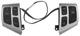 Switch, Multifunction Steering wheel silver 12801607 (1040465) - Saab 9-3 (2003-)