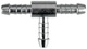 T-Piece 10 mm Metal  (1040649) - universal