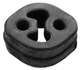 Rubber mount, Silencer 30645089 (1040733) - Volvo S60 (-2009), V70 P26