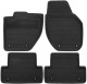 Floor accessory mats Rubber anthracite charcoal 6813428 (1041270) - Volvo V40 (2013-), V40 XC