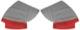 Bezug, Innenverkleidung Radhaus Satz  (1041708) - Volvo PV