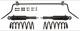 Niveaulift Satz 9499143 (1041861) - Volvo XC70 (2001-2007)