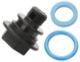 Drain valve, Condensate 30769018 (1042964) - Volvo C30, C70 (2006-), S40 V50 (2004-), S60 (2011-), S80 (2007-), V40 (2013-), V40 XC, V60, V70 (2008-), V70 XC70 (2008-), XC60 (-2017), XC70 (2008-)