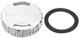 Cap, Oil dipstick silver  (1043876) - Saab 9-3 (-2003), 9-5 (-2010)