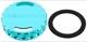 Cap, Oil dipstick blue  (1043878) - Saab 9-3 (-2003), 9-5 (-2010)
