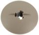 Clip, Innenverkleidung Spritzwandmatte 90214832 (1043891) - Saab 9-3 (-2003), 9-3 (2003-), 9-5 (2010-), 9-5 (-2010), 900 (1994-), 9000