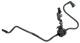 Fuel pipe Fuel tank - Engine intake 8629588 (1044220) - Volvo C30, S40 V50 (2004-)