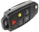 Housing, Remote control Locking system 8688800 (1044740) - Volvo S60 (-2009), S80 (-2006), V70 P26, XC70 (2001-2007), XC90 (-2014)