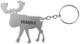Schlüsselanhänger Flaschenöffner Elch SKANDIX Logo  (1045179) - universal