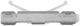 Clip, Zierleiste Zierleiste Frontscheibe 30753556 (1045395) - Volvo XC70 (2008-)