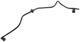 Vacuum line, Brake booster 12783806 (1045694) - Saab 9-3 (2003-)