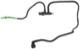 Sensor, fuel temperature with Fuel pipe 30725231 (1046043) - Volvo C30, C70 (2006-), S40 V50 (2004-), S80 (2007-), V70 (2008-)