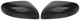 Cover, Outside mirror Carbon Look black Upgrade kit for both sides  (1047514) - Volvo S60 (-2009), S80 (-2006), V70 P26