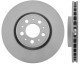 Brake disc Front axle internally vented 9475266 (1047977) - Volvo S60 (-2009), S80 (-2006), V70 P26, XC70 (2001-2007)