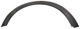 Trim moulding, Wheel arch 31283124 (1048267) - Volvo C30