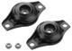 Mounting plate, Shock absorber Kit 31429386 (1052120) - Volvo S60 (2011-2018), S80 (2007-), V60 (2011-2018), V70 XC70 (2008-), XC60 (-2017)