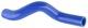 Radiator hose lower Silicone 1397546 (1052415) - Volvo 900, S90 V90 (-1998)