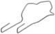 Halter, Leuchtmittel D2R (Gasentladungslampe) 8678123 (1052952) - Volvo S60 (-2009), S80 (-2006), V70 P26, XC70 (2001-2007)