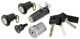 Lock set, Locking system 6846129 (1053361) - Volvo 700, 900