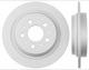 Brake disc Rear axle non vented 31262094 (1054585) - Volvo 850, S70, V70 (-2000), V70 XC (-2000)