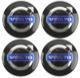 1054624 Wheel Center Cap black for Genuine Light alloy rims Kit