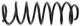 Fahrwerksfeder Vorderachse 9-28 mm Tieferlegungsfeder 3546640 (1054980) - Volvo 850, C70 (-2005), S70 V70 (-2000)