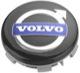 Nabenkappe schwarz für Original-Alufelgen Stück 31400453 (1055270) - Volvo 200, 700, 850, 900, C30, C70 (2006-), C70 (-2005), S40 (-2004), S40 V50 (2004-), S60 (2019-), S60 (-2009), S60, V60, S60XC, V60XC (2011-2018), S70 V70 V70XC (-2000), S80 (2007-), S80 (-2006), S90 V90 (2017-), S90 V90 (-1998), V40 (2013-), V40 XC, V60 (2019-), V60 XC (19-), V70 P26, XC70 (2001-2007), V70 XC70 (2008-), V90 XC, XC40, XC60 (2018-), XC60 (-2017), XC90 (2016-), XC90 (-2014)