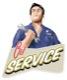 Oil Service reminder Tag Oil Change (vintage)  (1055470) - universal