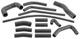 1055990 Radiator hose Kit
