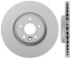 Brake disc Front axle internally vented  (1056029) - Volvo V40 (2013-), V40 XC