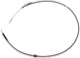 Cable, Park brake front Section 1293942 (1056104) - Volvo 900