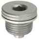 Screw Plug, Bevel gear Oil drain plug with Seal 55566098 (1056385) - Saab 9-3 (2003-), 9-5 (2010-)