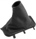 Hand brake lever boot Vinyl black grey 39882518 (1057086) - Volvo S60 (-2009), V70 P26