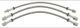 Brake hose Front axle Rear axle Kit  (1058299) - Volvo 200