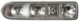 Housing, Rear light left  (1058380) - Volvo P1800ES