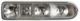 Housing, Rear light right  (1058381) - Volvo P1800ES