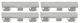 Clip, Zierleiste Kofferraum Seitenscheibe Laderaum Satz 30779380 (1058756) - Volvo XC90 (-2014)