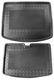 Trunk mat Synthetic material Rubber black Kit  (1058997) - Volvo V40 (2013-), V40 XC