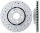 Brake disc Front axle perforated/ internally vented Sport Brake disc 31400764 (1059134) - Volvo S60 (2011-), S60 XC, S80 (2007-), V60, V60 XC, V70 XC70 (2008-)