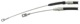 Cable, Park brake right rear Section 31362059 (1059728) - Volvo 900, S90 V90 (-1998)