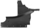 Air guide Bumper front right 5023957 (1059863) - Saab 9-3 (-2003)